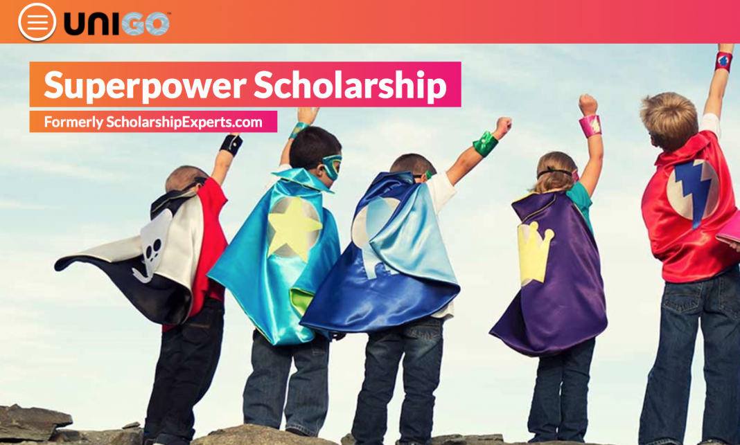 Unigo Superpower Scholarship